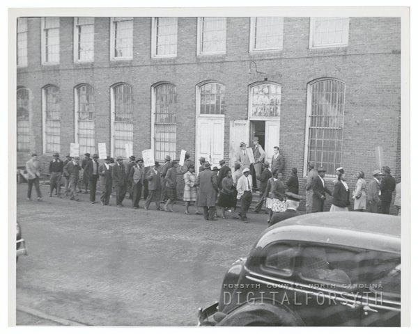 Worker Strike at R. J. Reynolds Tobacco Company