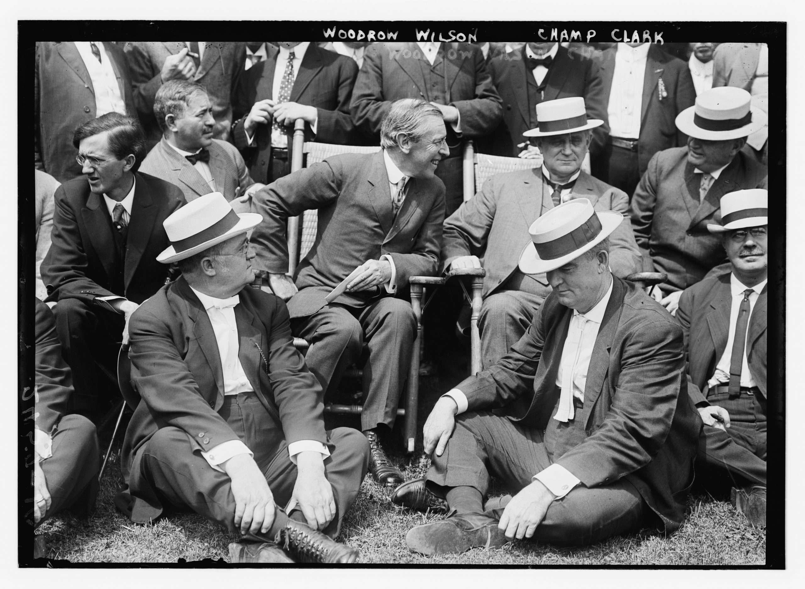 Democratic Presidential Nominee Woodrow Wilson