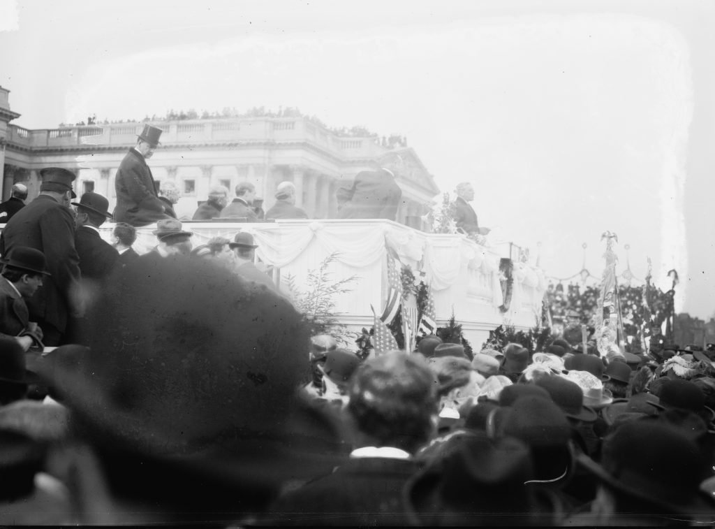 President Wilson's First Inaugural Address