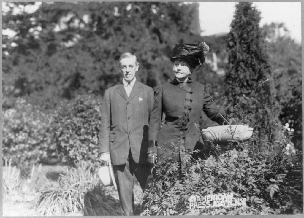 Woodrow Wilson and Ellen Axson Wilson in Princeton