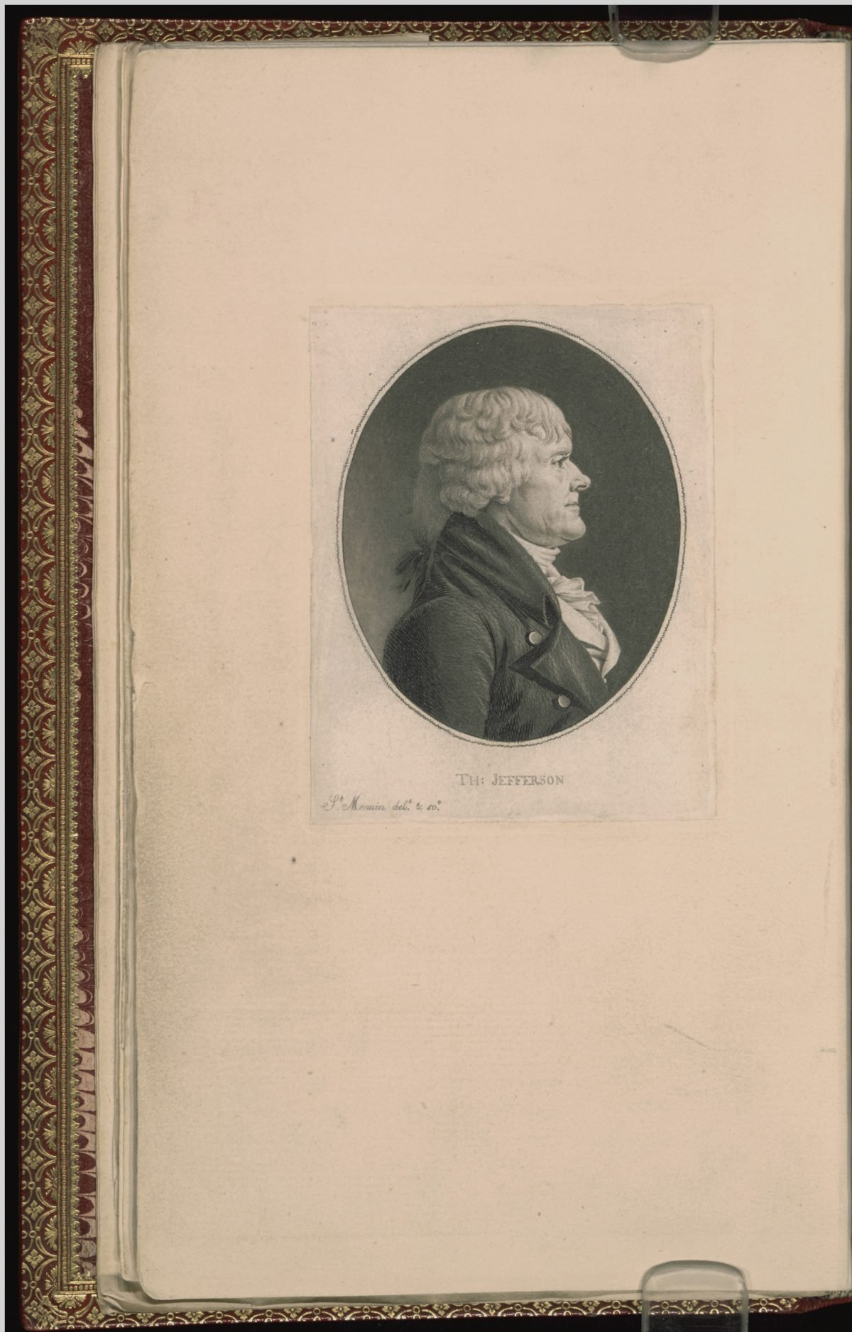Engraving of Thomas Jefferson