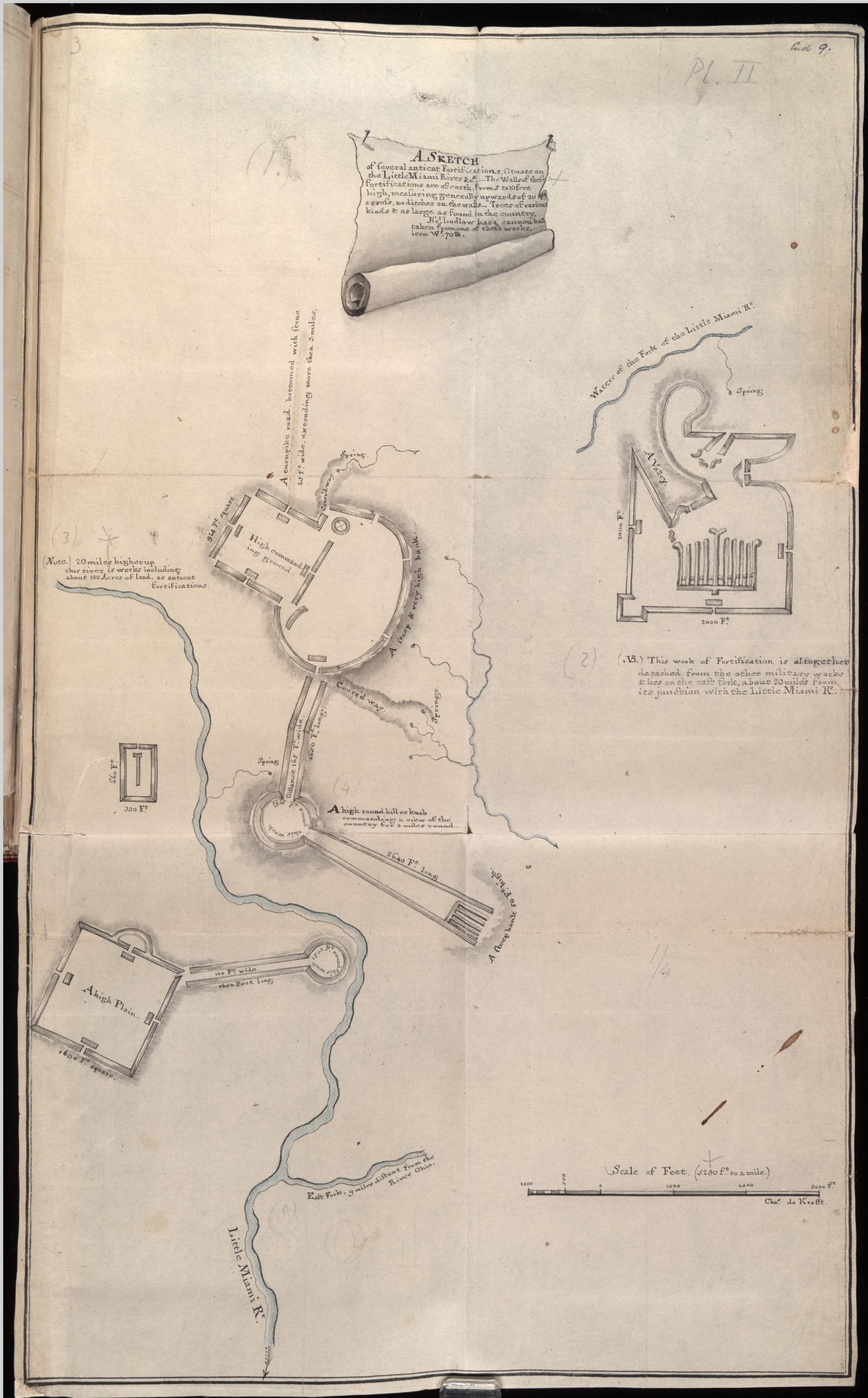 A Sketch of several antient Fortifications