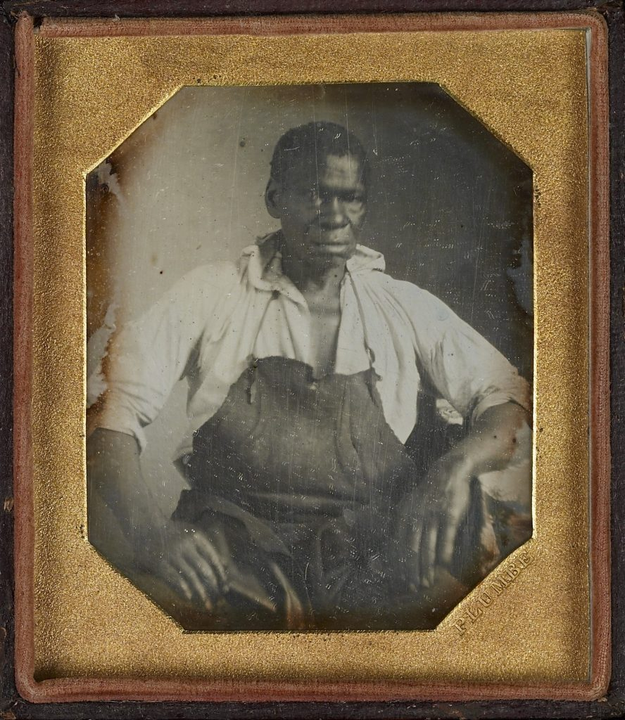 Daguerreotype of Isaac Jefferson