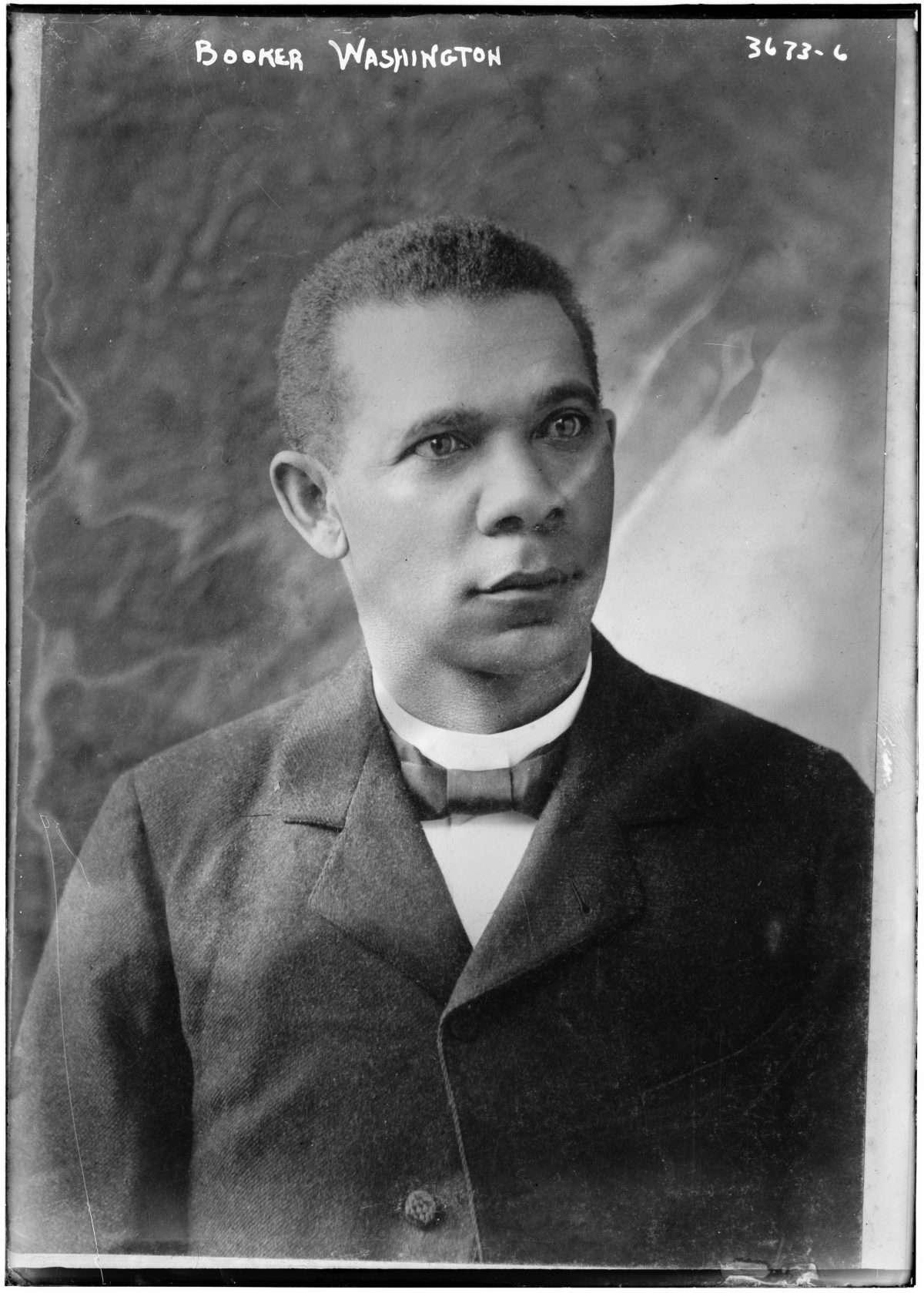 Booker T. Washington as a Young Man