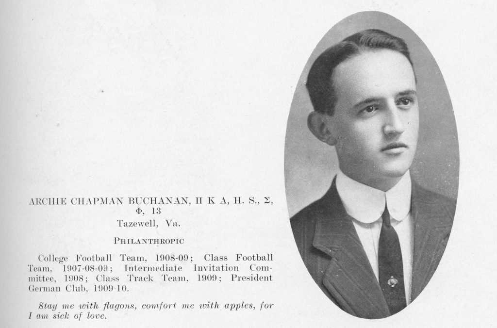 "Archibald ""Archie"" Chapman Buchanan"