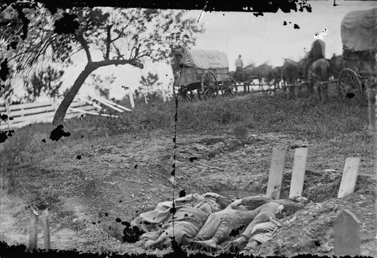 Confederate Dead at Gettysburg