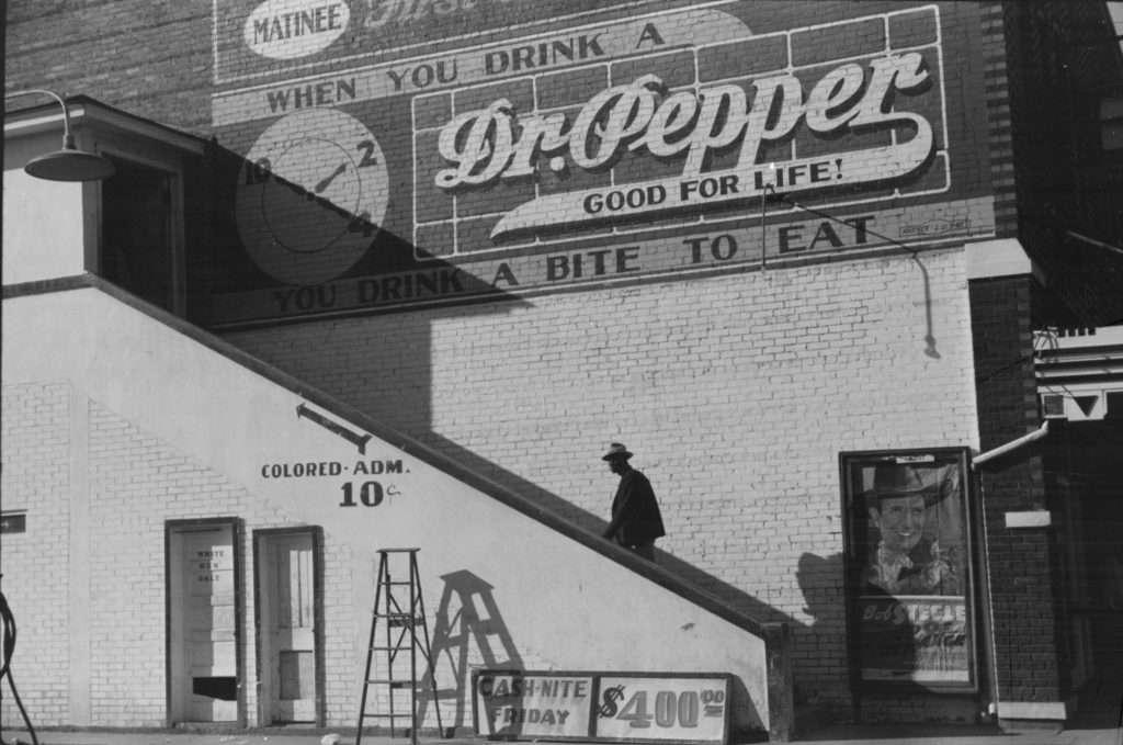A Segregated Movie Theater
