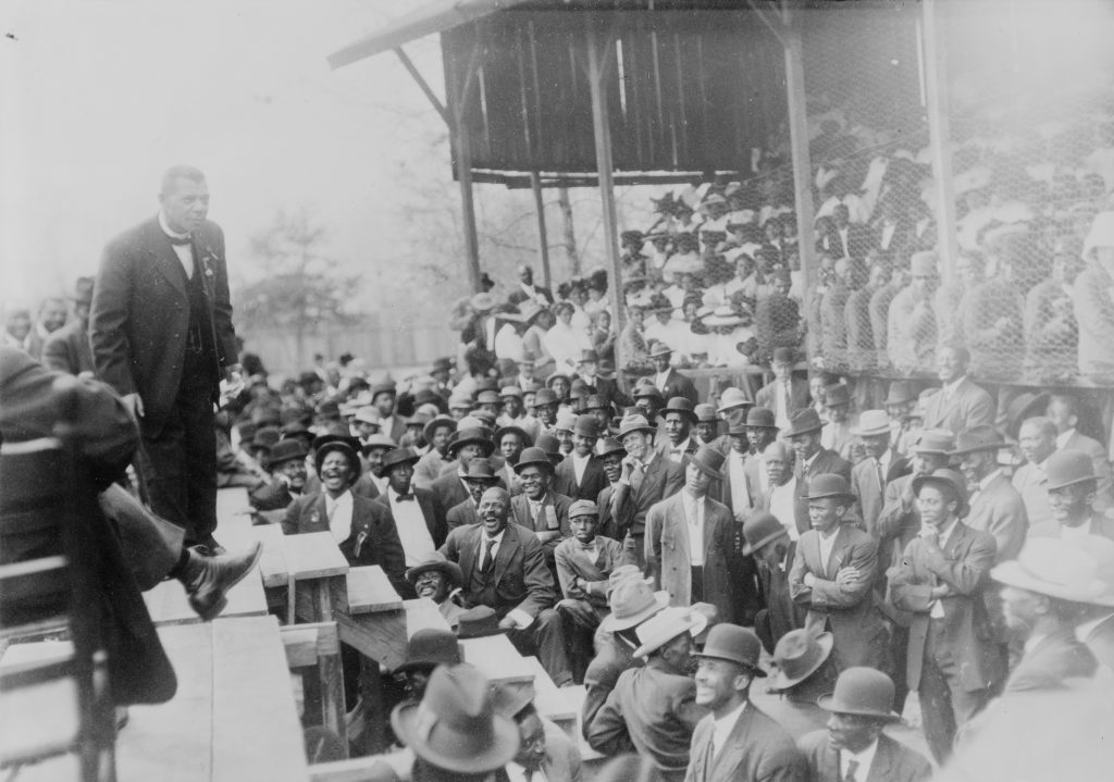 Booker T. Washington on Stage