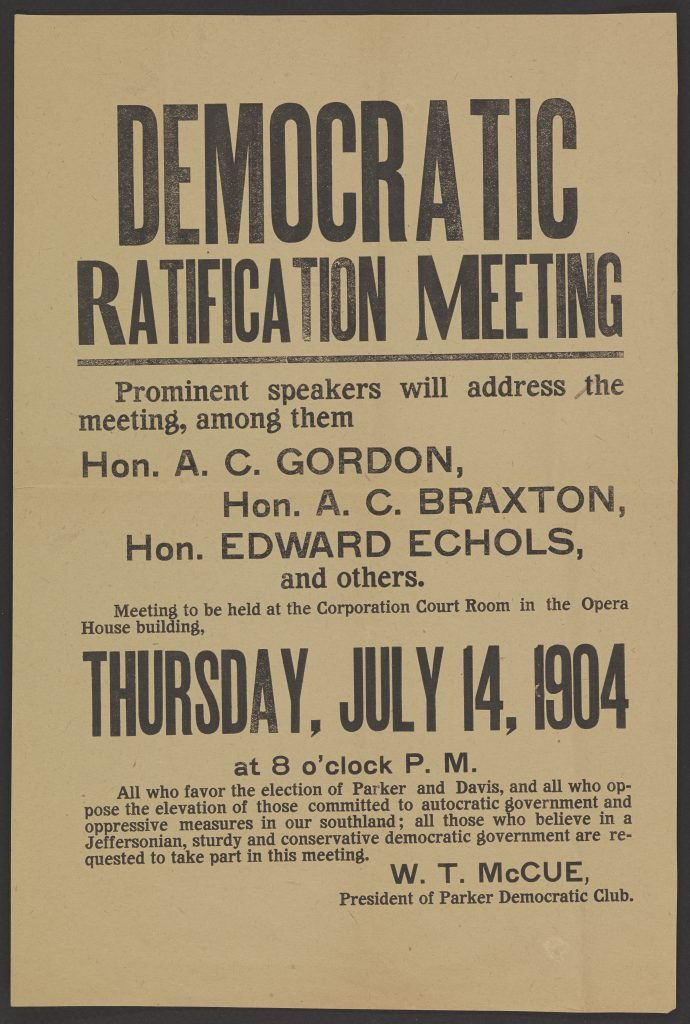Democratic Ratification Meeting