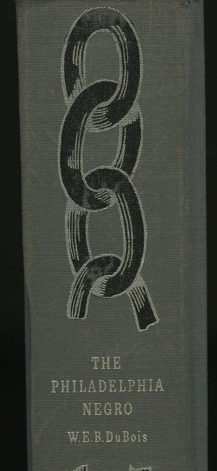 Book Spine of The Philadelphia Negro