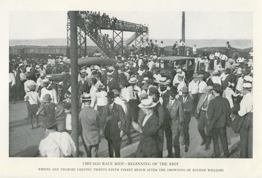 Chicago Race Riot—Beginning of the Riot