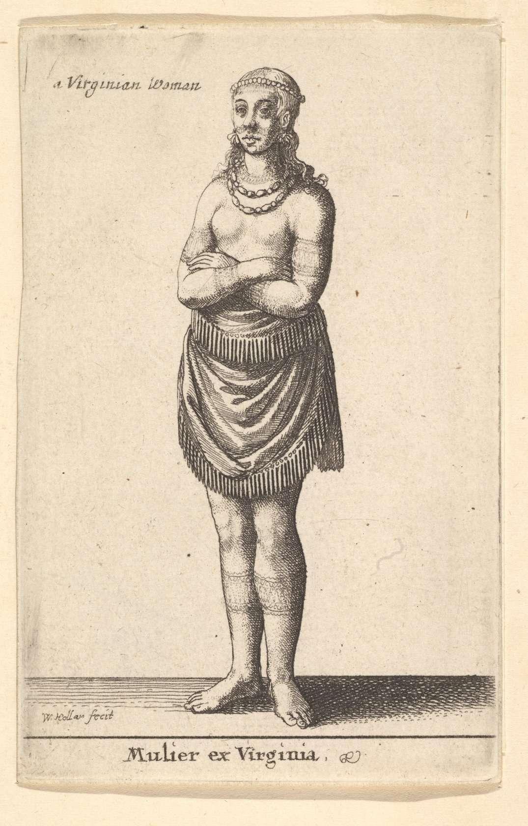 A Virginian Woman [Mulier ex Virginia]