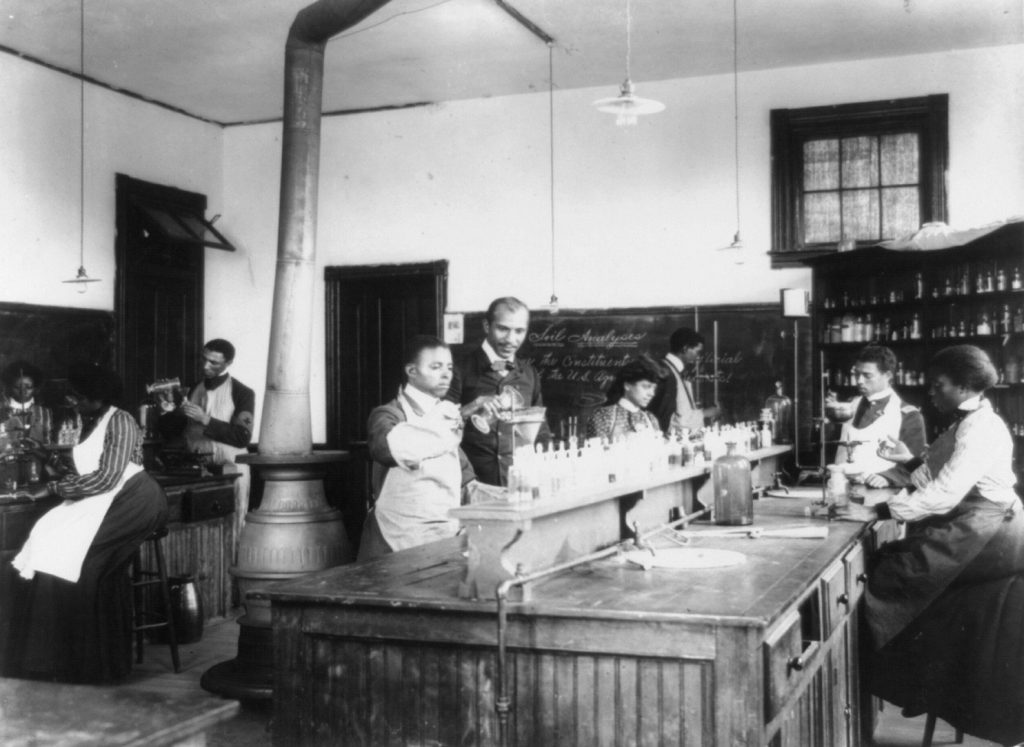 Laboratory at Tuskegee Institute