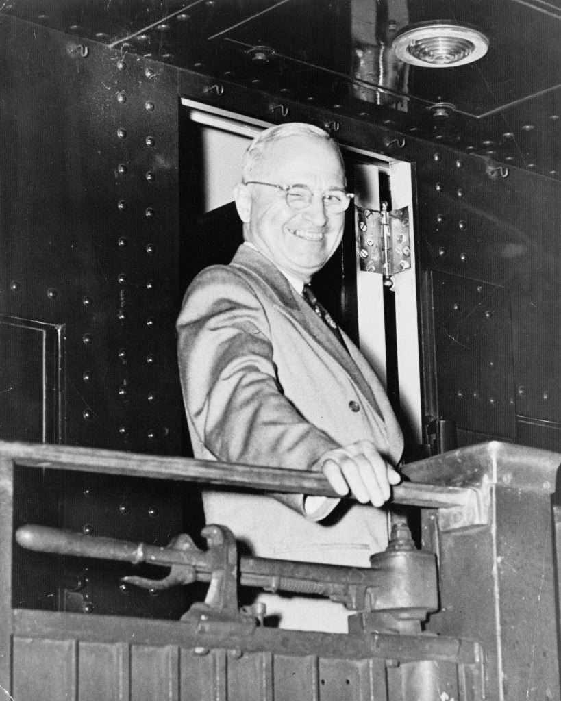 Harry S. Truman on a Campaign Tour