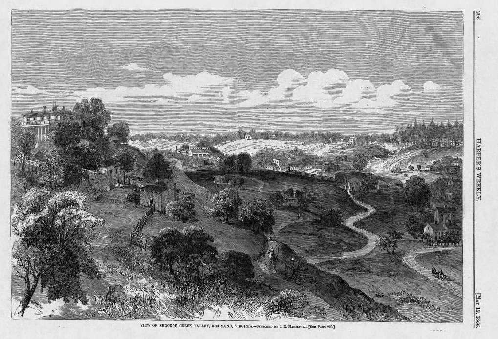 View of Shockoe Creek Valley