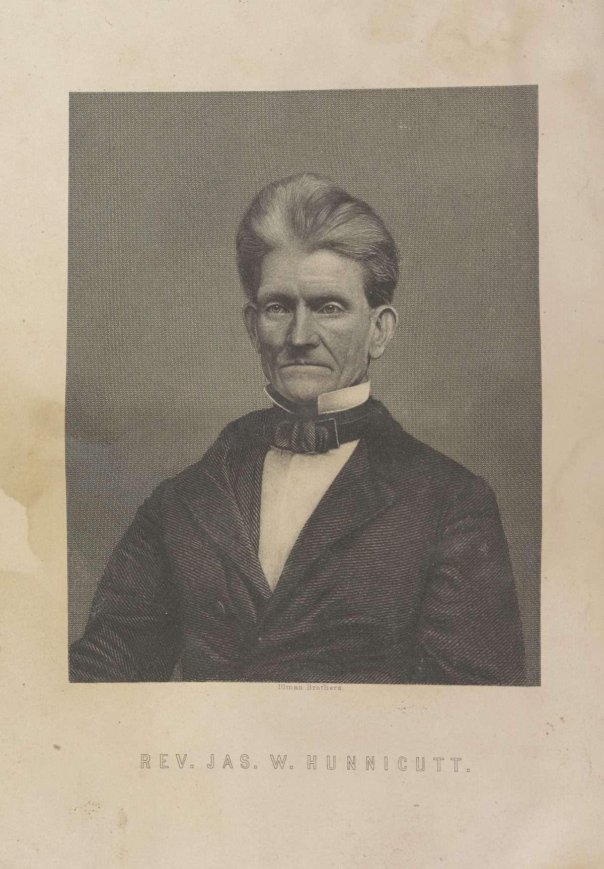 Rev. Jas. W. Hunnicutt.