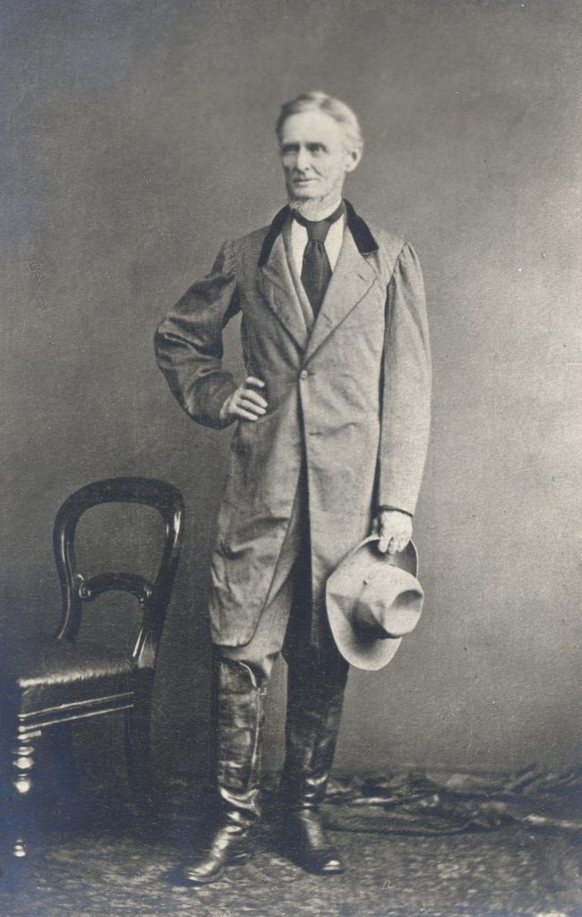 Jefferson Davis in the Clothes in Which He Was Captured
