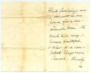 Daniel Webster Recommends Paul Jennings (June 23, 1851)