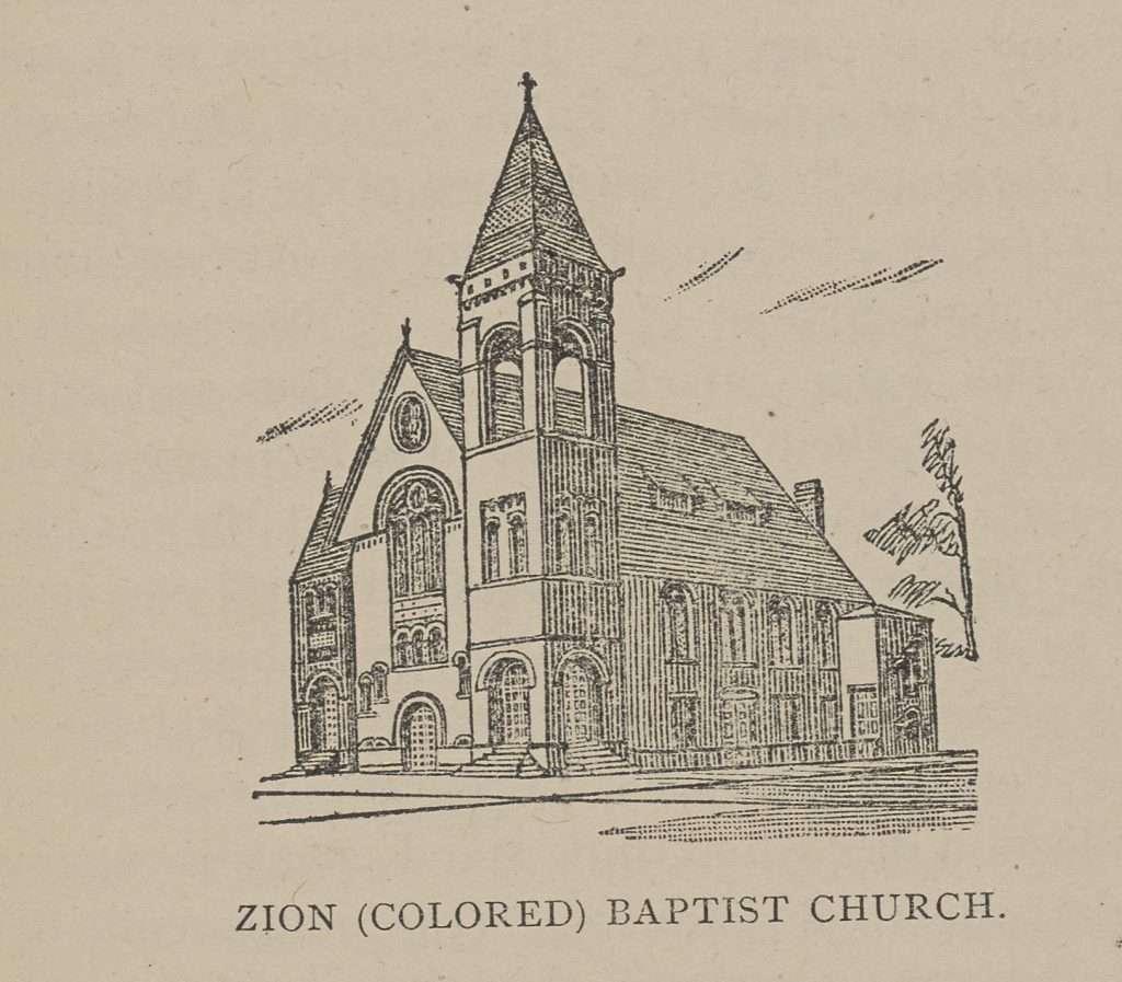 Zion (Colored) Baptist Church
