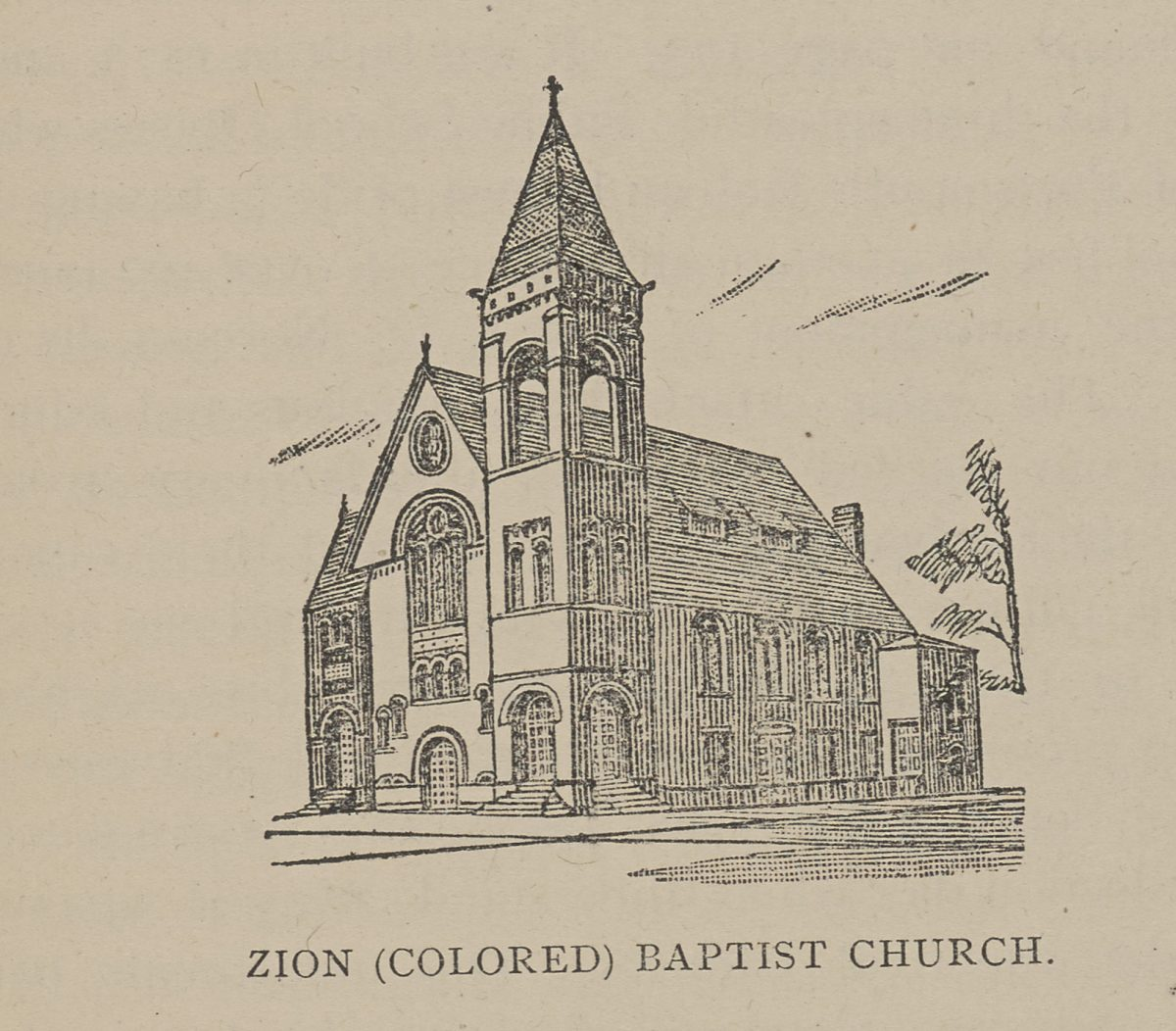 Zion (Colored) Baptist Church