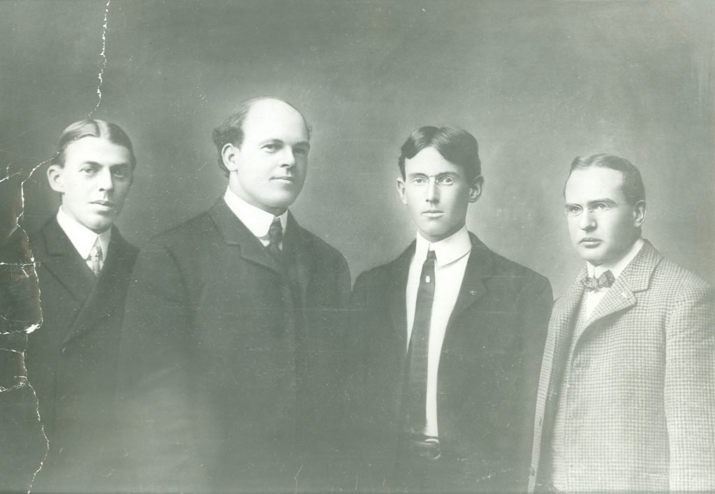 Woodrow Wilson with the Jefferson Literary and Debating Society