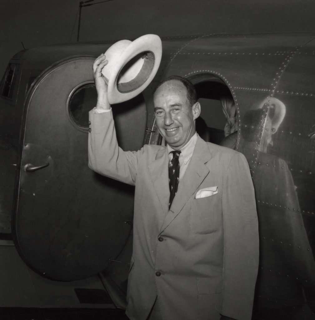 Presidential Nominee Adlai Stevenson in 1952