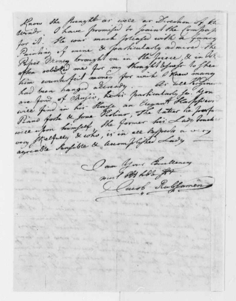 Letter from Jacob Rubsamen to Thomas Jefferson (December 1