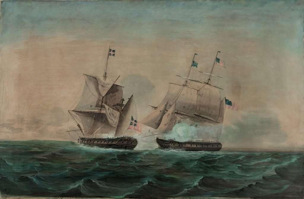 The U.S. Brig Enterprise Captures the British Brig Boxer