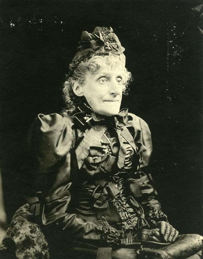 Elizabeth Van Lew as an Old Woman