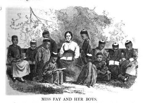 Miss Fay and Her Boys
