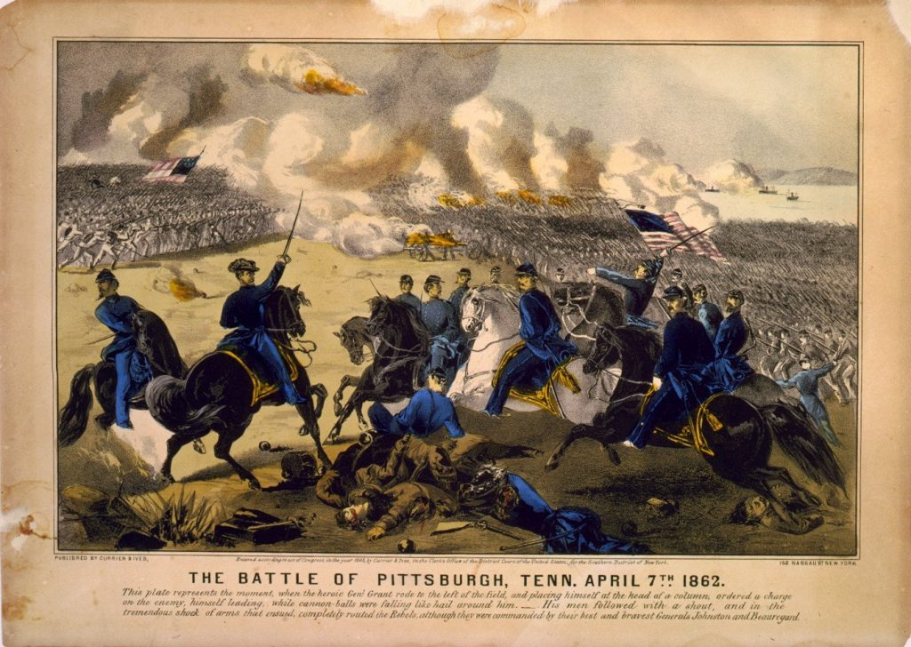 Grant's Counterattack at Pittsburg Landing