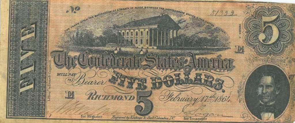 Women in the Confederate Treasury