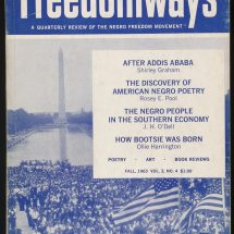 Cover of Freedomways