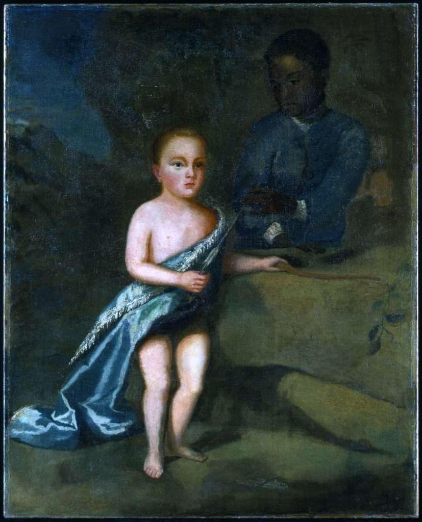William Byrd III as a Child