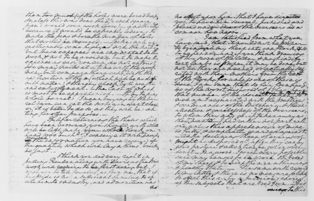 Letter from George Washington to Anthony Whitting (May 19