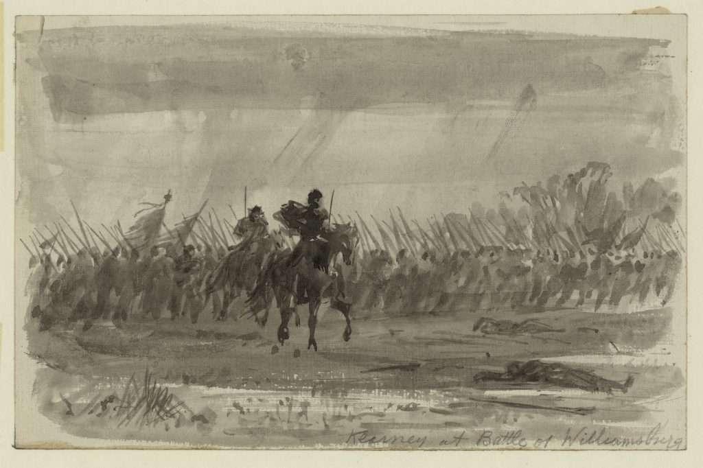 Kearney [sic] at Battle of Williamsburg