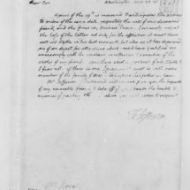 Letter from Thomas Jefferson to William DuVal (June 22