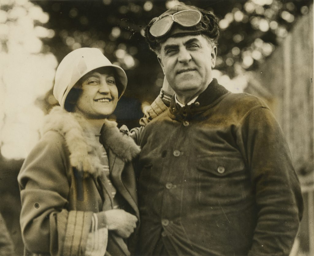 Governor E. Lee Trinkle and Wife