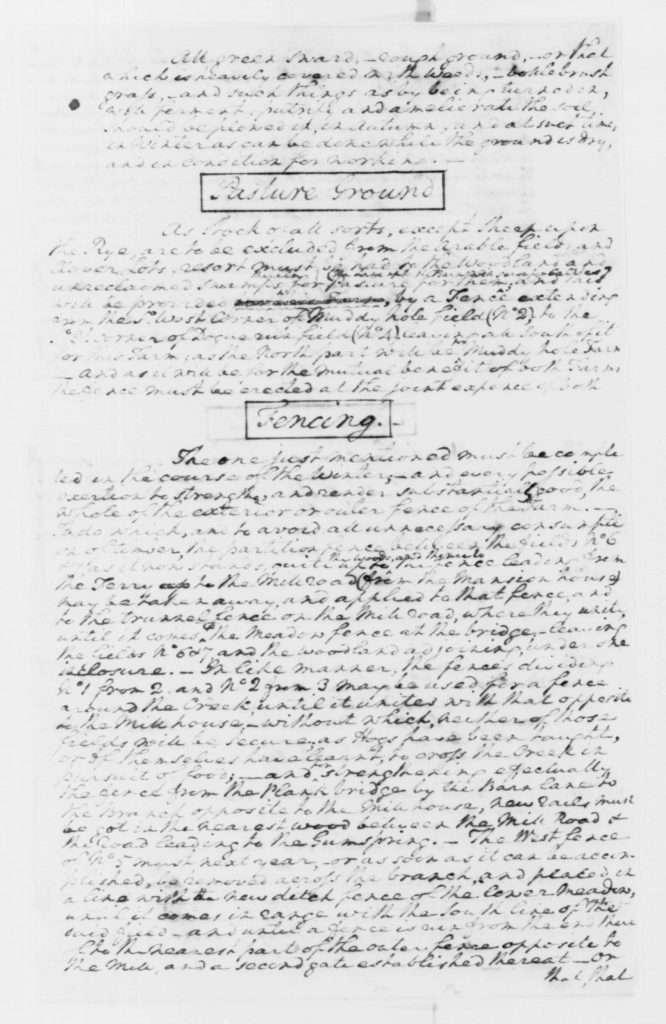Enclosure: Washington's Plans for His River