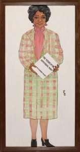 Charity, Ruth LaCountess Harvey Wood (1924–1996)