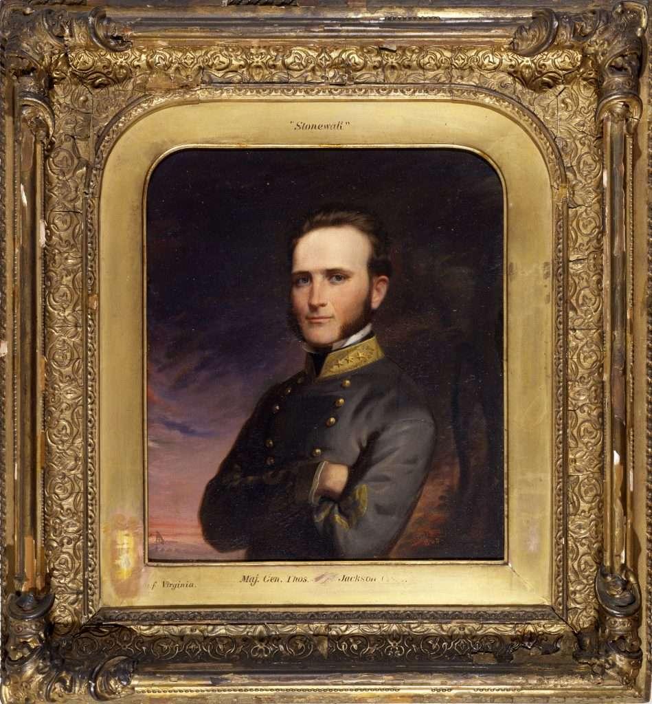 Painting of Stonewall Jackson