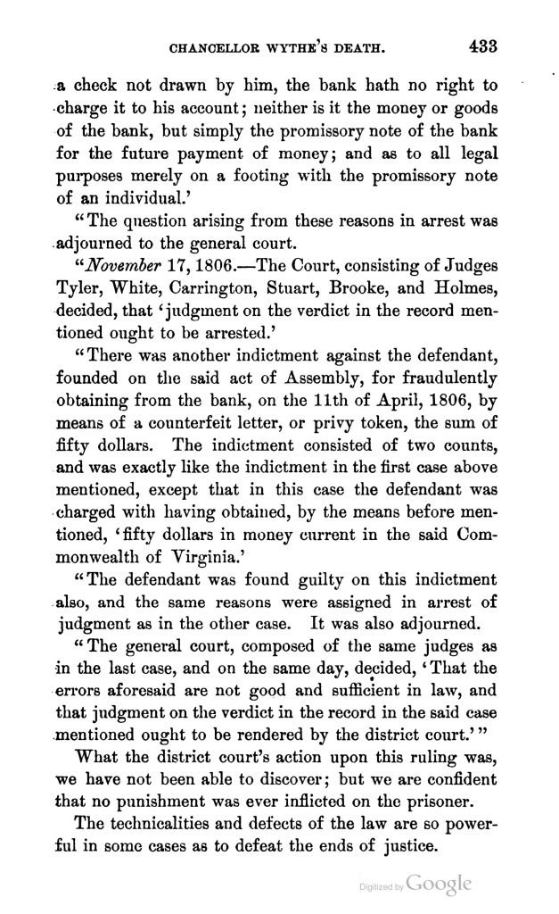 The Two Parsons by George Wythe Munford (1884)