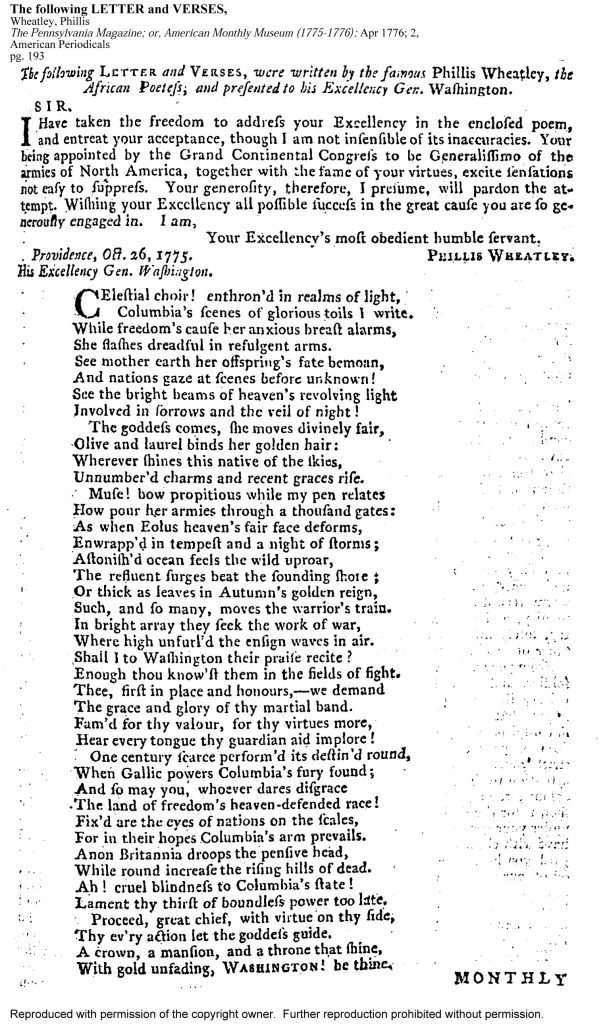 The Pennsylvania Magazine 2 (April 1776)