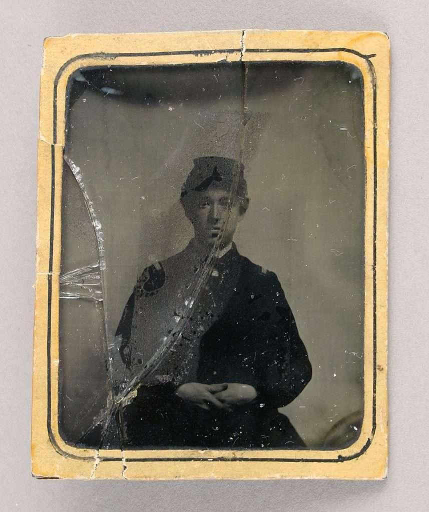 Union Soldier Charles W. Baldwin