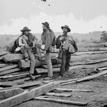 Three Confederate Prisoners from the Battle of Gettysburg