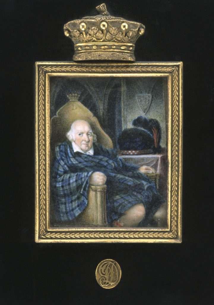 Miniature Portrait of John Murray
