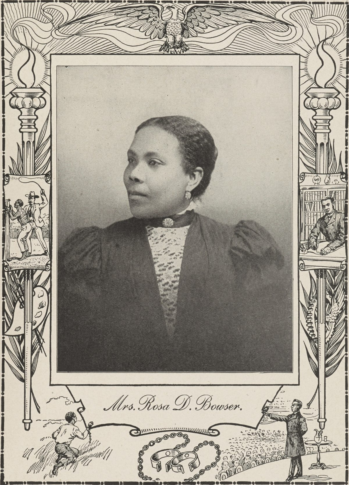 Mrs. Rosa D. Bowser.