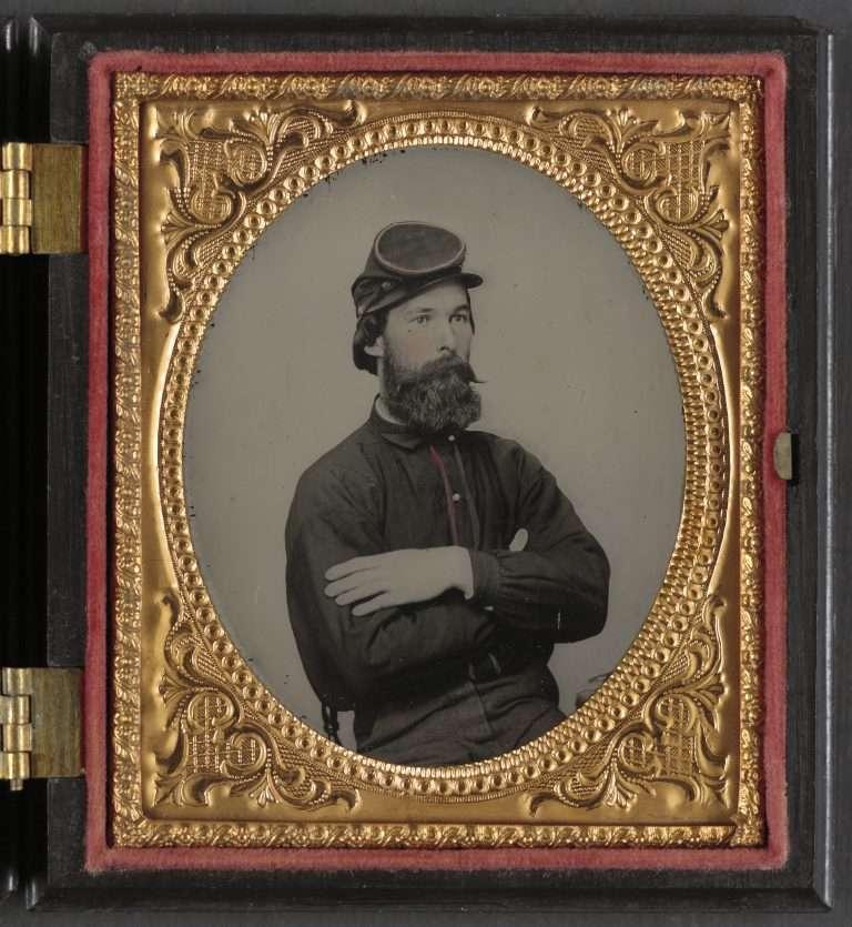 A Confederate Private