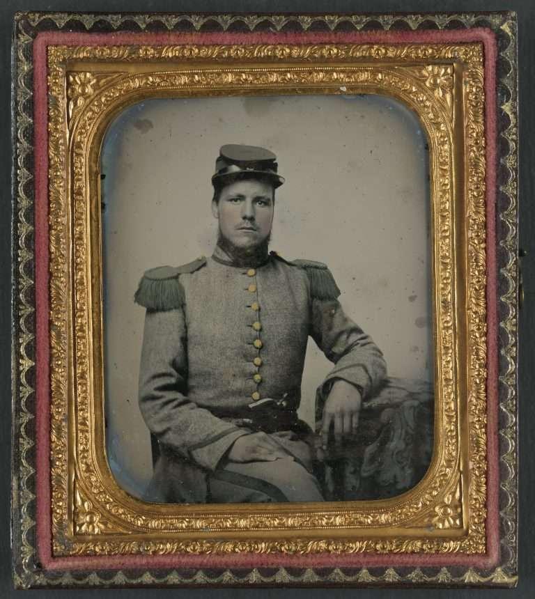 Private Joseph T. Rowland of Company A
