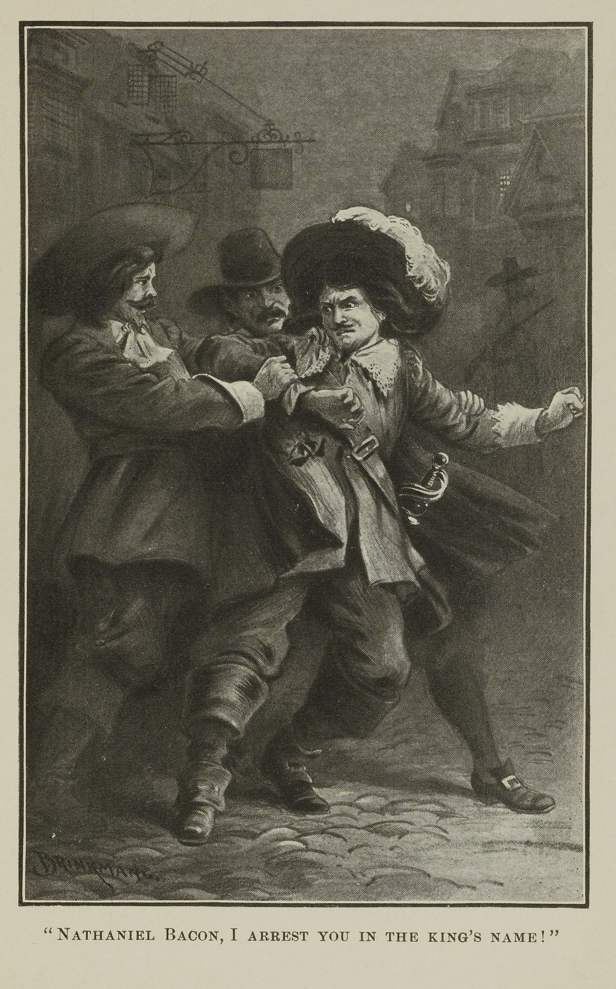 Arrest of Nathaniel Bacon